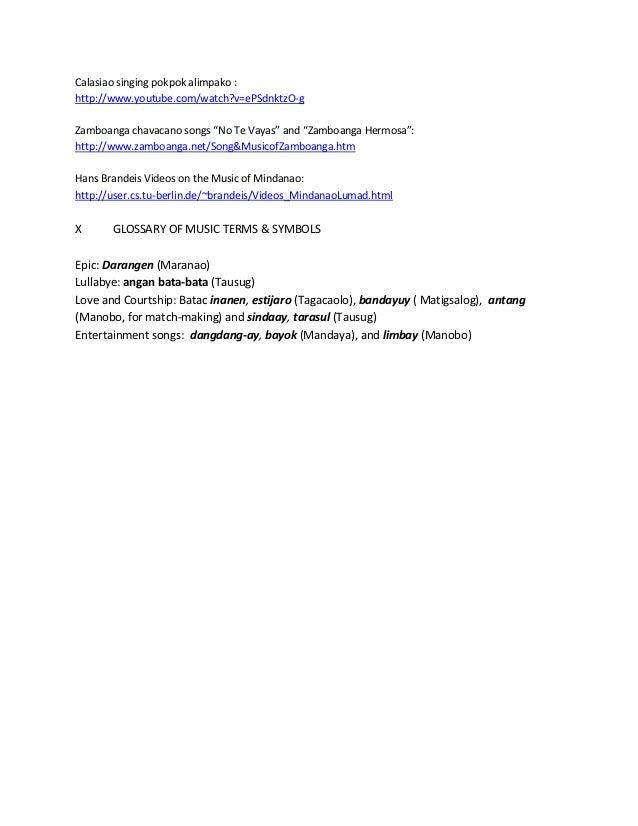 Module 9 mindanao vocal music