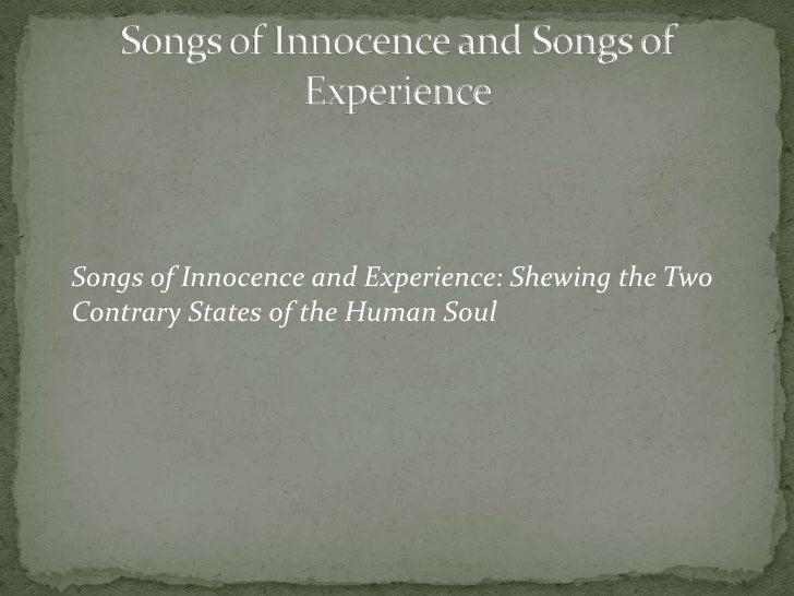 essay experience innocence Innocence to experience essay the journey from innocence to experience - diva the journey from innocence to experience philip pullman's his dark materials as a female bildungsroman.