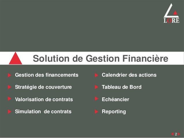 Module de Gestion Slide 2