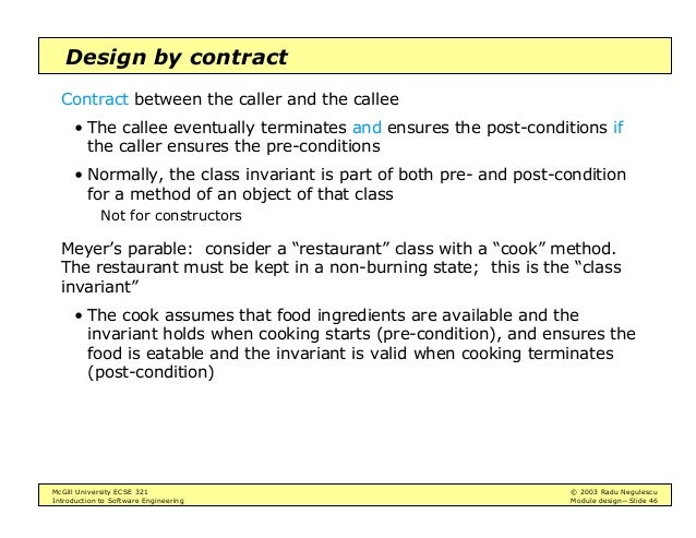 Intro To Software Engineering Module Design