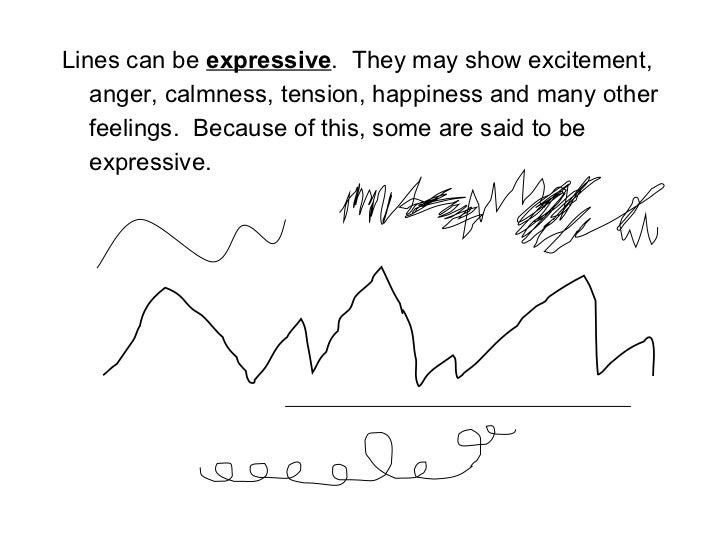 Line Art Define : The visual elements