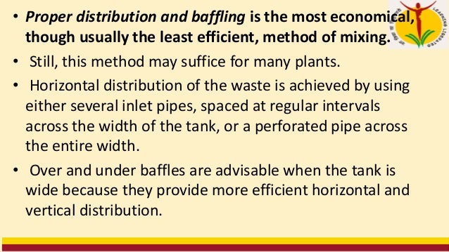 • There are two general methods of discharging industrial waste in proportion to the flow of domestic sewage at the munici...