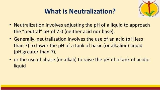 CO2 storage for neutralization