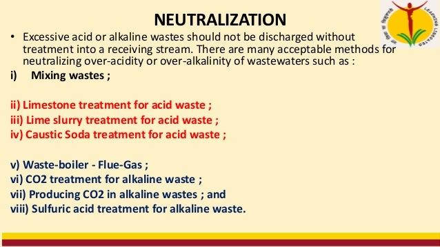 7 Producing Carbon-dioxide in Alkaline Wastes • CO2 produced by fermentation of an alkaline, organic waste help in neutral...