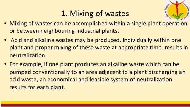 8 Sulfuric-Acid Treatment for Alkaline Wastes • The addition of sulfuric acid to alkaline wastes causes neutralization. • ...