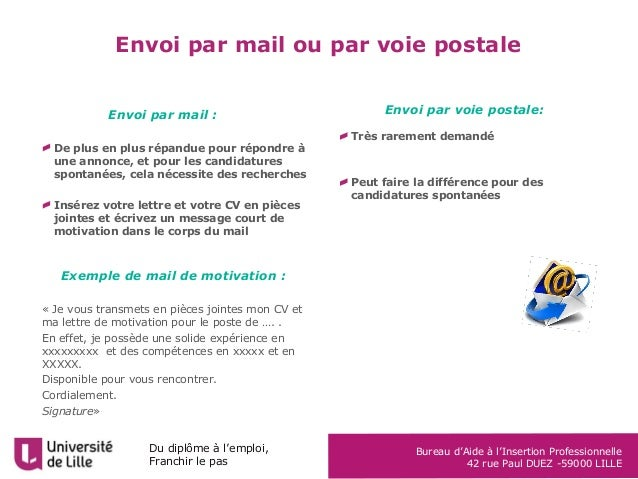 module lettre de motivation Mails De Motivation Modules    REV module lettre de motivation