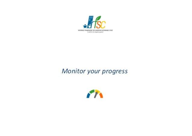 Monitor your progressMonitor your progress