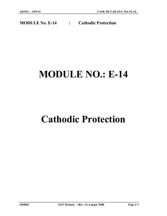 (cathodic protection)