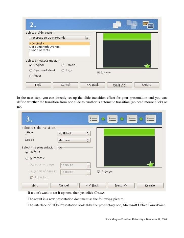 Openoffice org impress tutorial - Open office impress templates ...