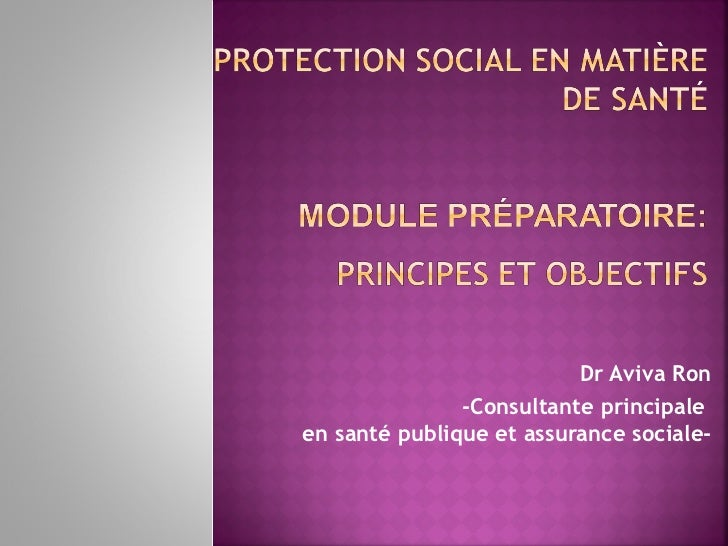 Module preparatoire principes and objectifs-fr