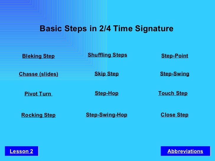 fundamental dance steps in philippine folk dance