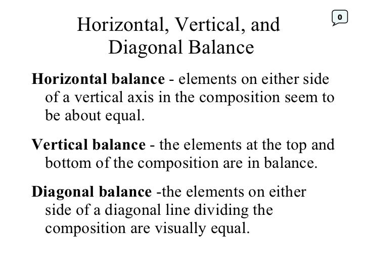 Value Balance Art Definition : Principles of design