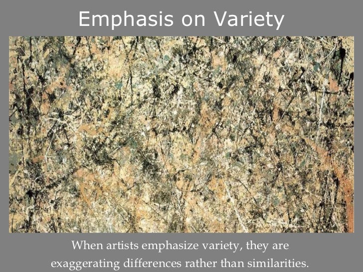 Principles Of Art Variety : Principles of design