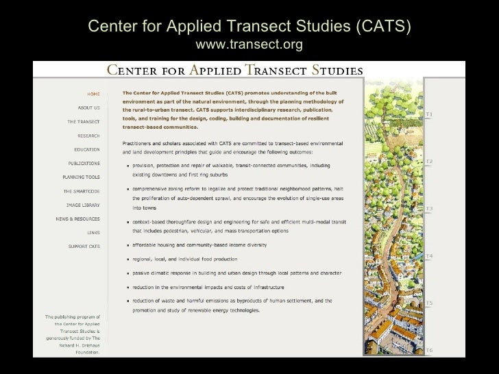Center for Applied Transect Studies (CATS)               www.transect.org
