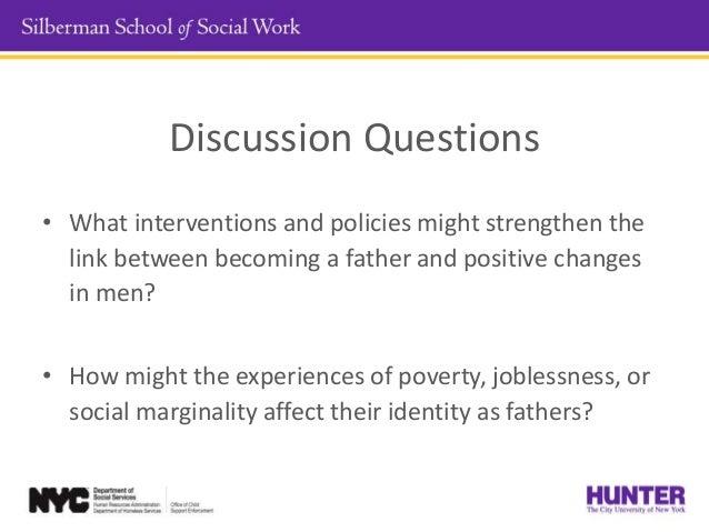 Module Two : The Socialization of Men- Culture of Fatherhood