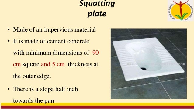 Features of a septic tank Air space A minimum air space of 30cm between the level of liquid in the tank and the undersurfa...