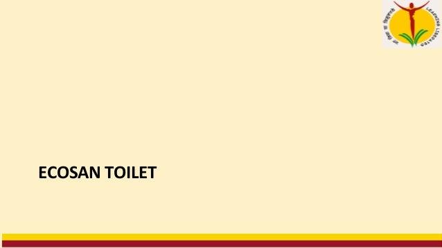 Module VI Rural Sanitation