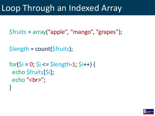 length array php