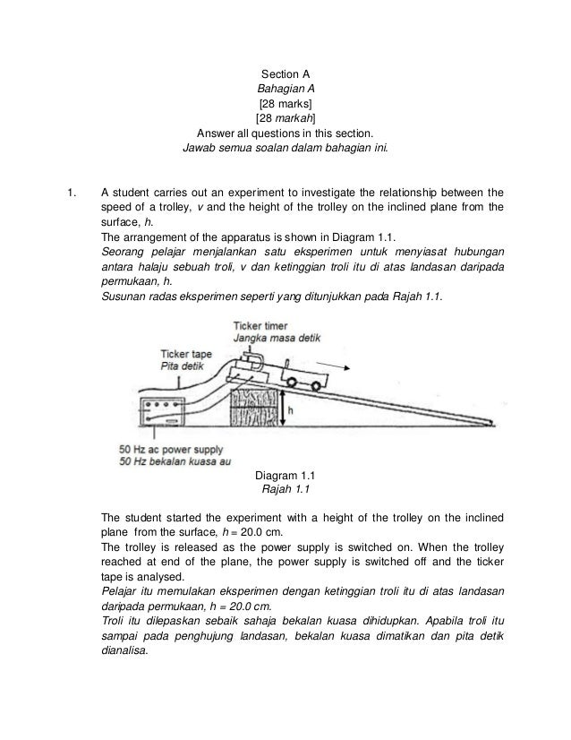 Modul Fizik Cakna Kelantan Spm 2014 K3 Set 1 Dan Skema