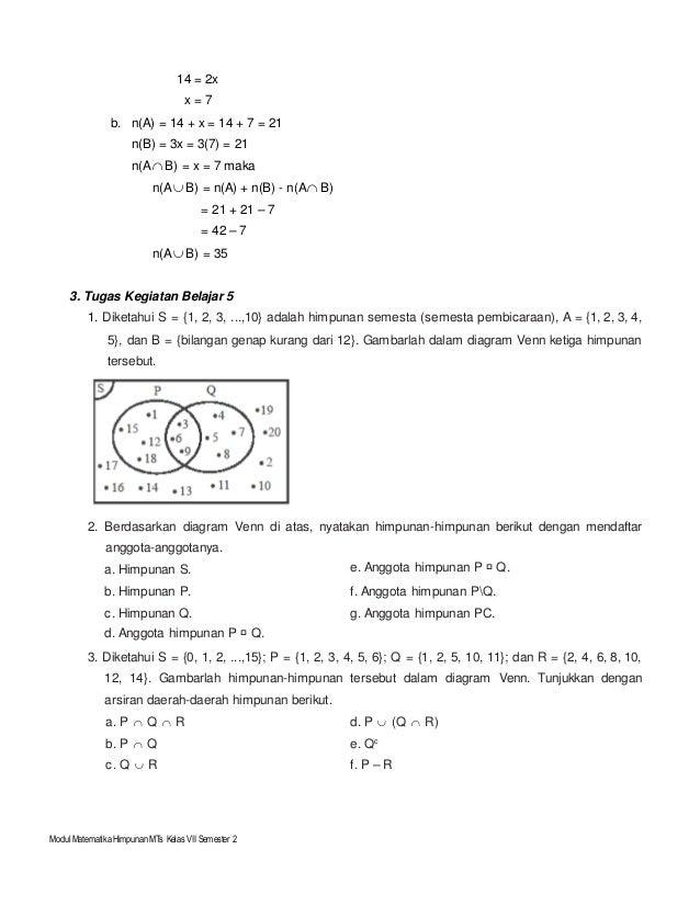 Modul himpunan kelas vii k13 16 modul matematika himpunan ccuart Gallery