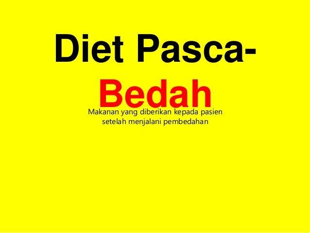 Diet Pada Sal.cerna Dan Diet Hati