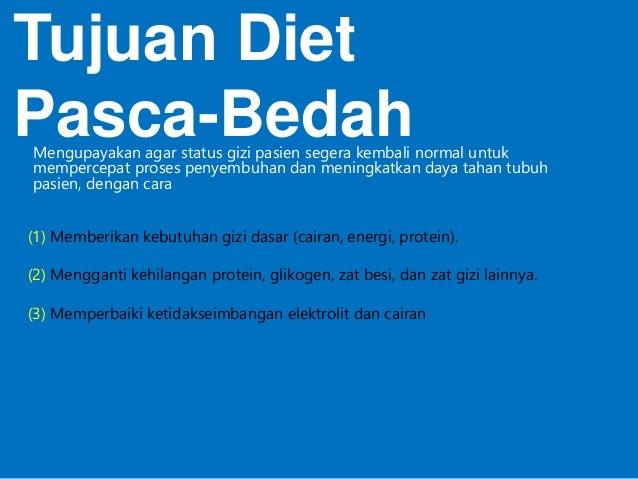 Diet Pra Dan Pasca Bedah