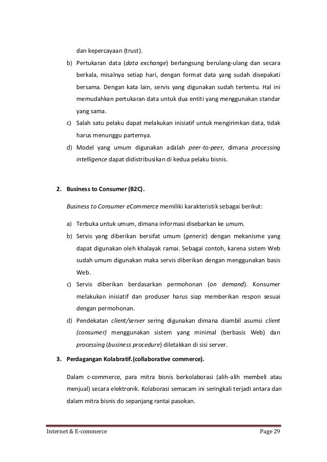 SISTEM INFORMASI E-COMMERCE | cryptonews.id