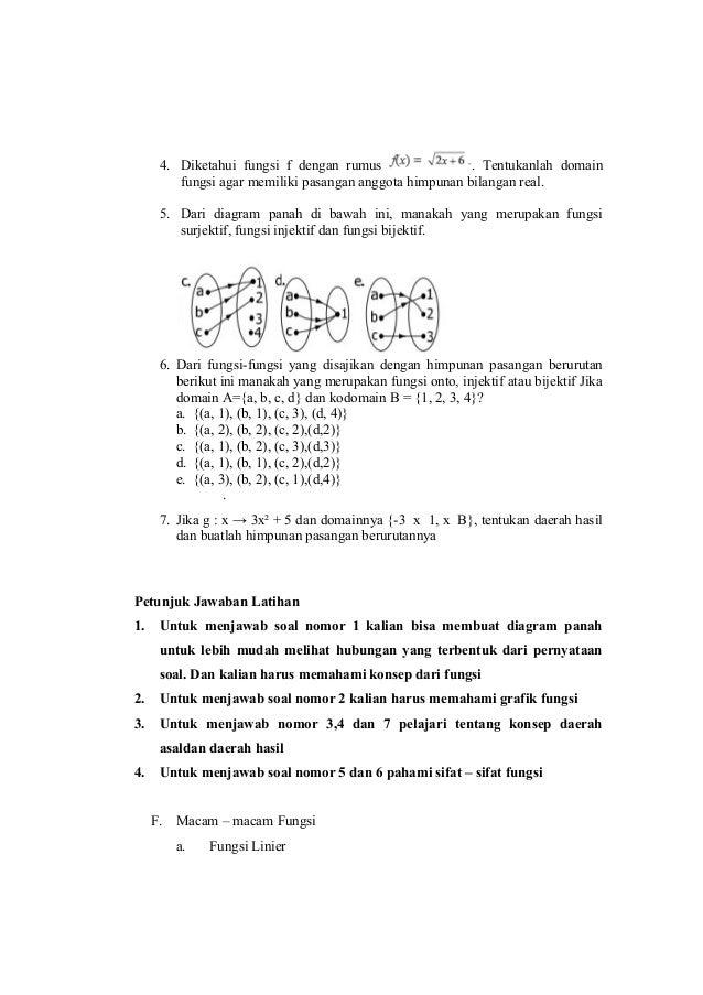 Modul matematika kelas x kd 35 kurikulum 2013 revisi 2016 kiki ismay 21 4 diketahui fungsi ccuart Image collections