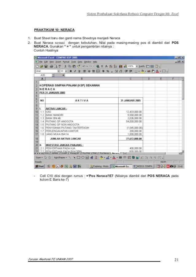 Modul Komputer Akuntansi