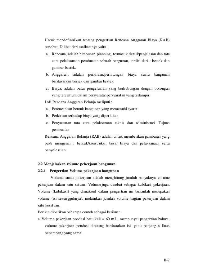 Modul Tkp M6kb2 Menghitung Volume Pekerjaan Konstruksi