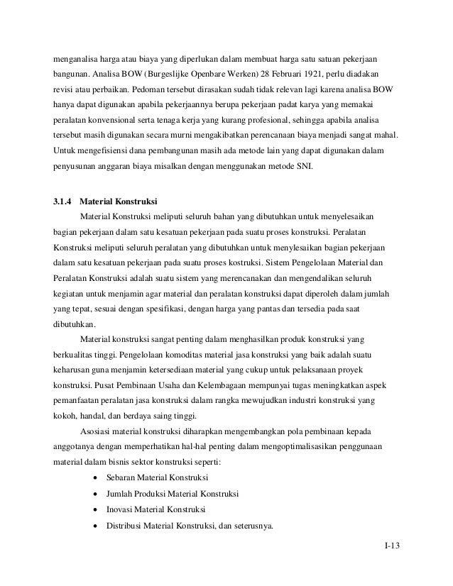 Modul Tkp M6kb3 Analisa Harga Satuan Pekerjaan