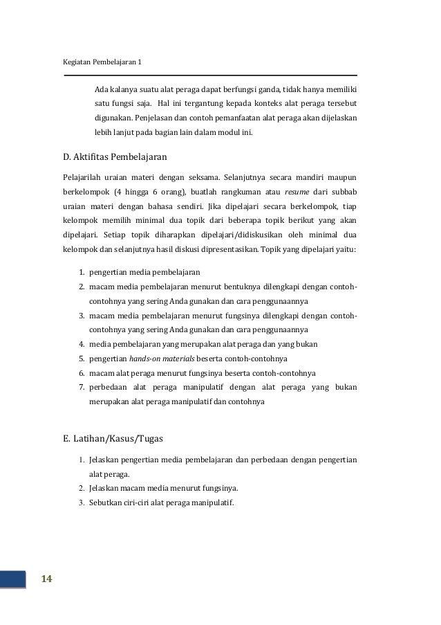 Media Pembelajaran Manipulatif Matematika Smp Modul Matematika Smp Kk I Modul Matematika Smp Kk