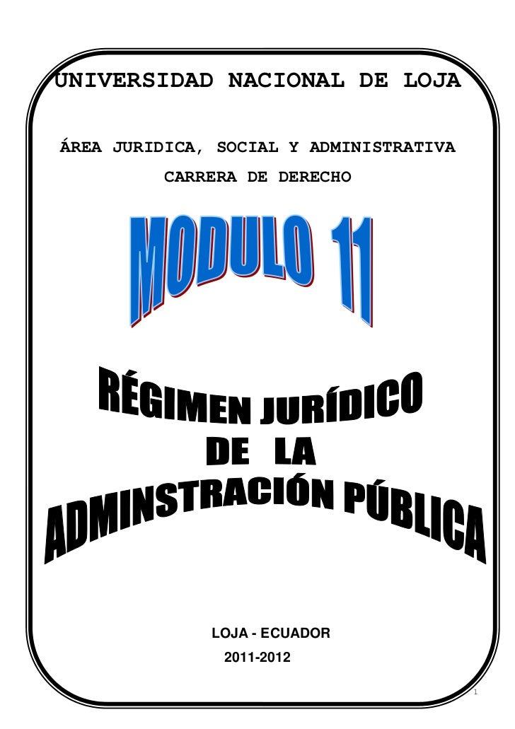 UNIVERSIDAD NACIONAL DE LOJAÁREA JURIDICA, SOCIAL Y ADMINISTRATIVA         CARRERA DE DERECHO              LOJA - ECUADOR ...