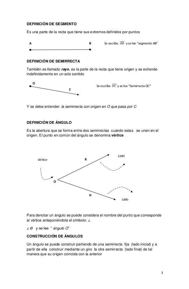 Modulo geometria cuarto for Definicion de cuarto