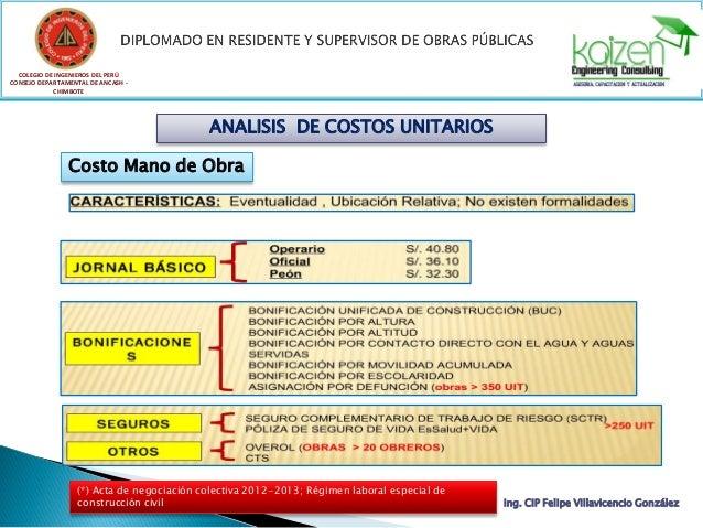 COLEGIO DE INGENIEROS DEL PERÚ CONSEJO DEPARTAMENTAL DE ANCASH - CHIMBOTE Ing. CIP Felipe Villavicencio González ANALISIS ...