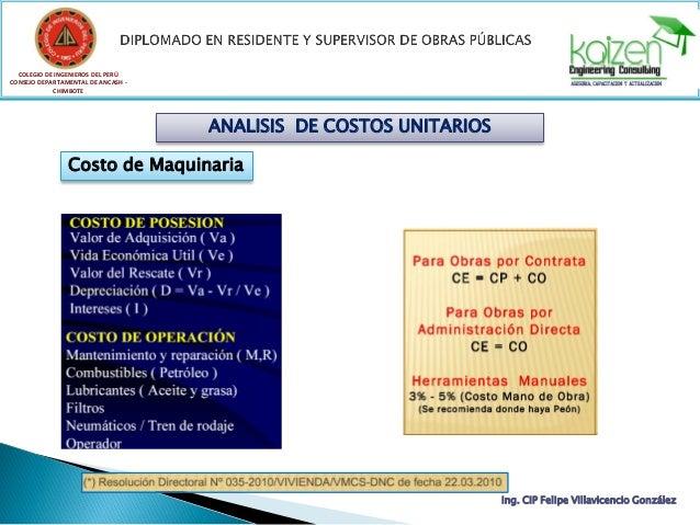COLEGIO DE INGENIEROS DEL PERÚ CONSEJO DEPARTAMENTAL DE ANCASH - CHIMBOTE Ing. CIP Felipe Villavicencio González DISGREGAD...