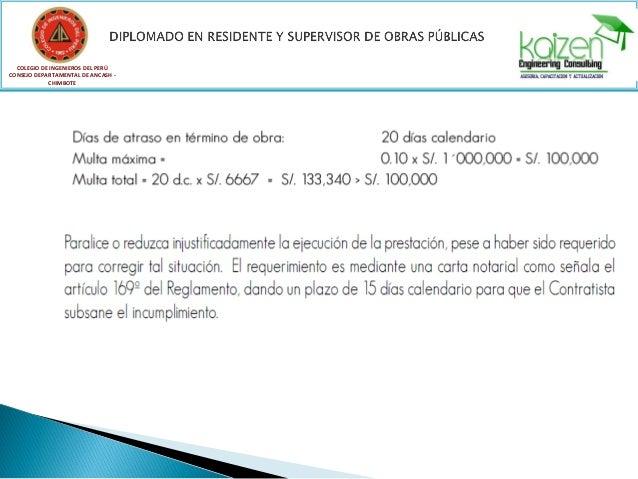 Modulo I: Administración en Residencia, Supervisión y Seguridad en Obras