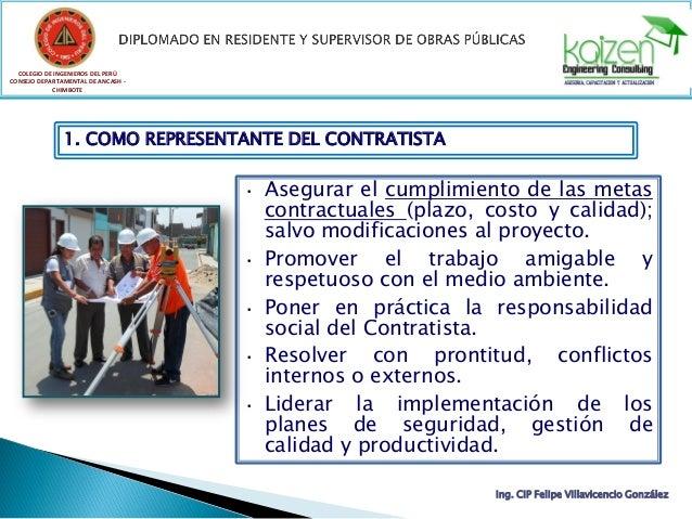 COLEGIO DE INGENIEROS DEL PERÚ CONSEJO DEPARTAMENTAL DE ANCASH - CHIMBOTE Ing. CIP Felipe Villavicencio González 1. COMO R...