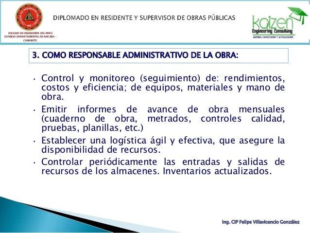 COLEGIO DE INGENIEROS DEL PERÚ CONSEJO DEPARTAMENTAL DE ANCASH - CHIMBOTE Ing. CIP Felipe Villavicencio González 3. COMO R...