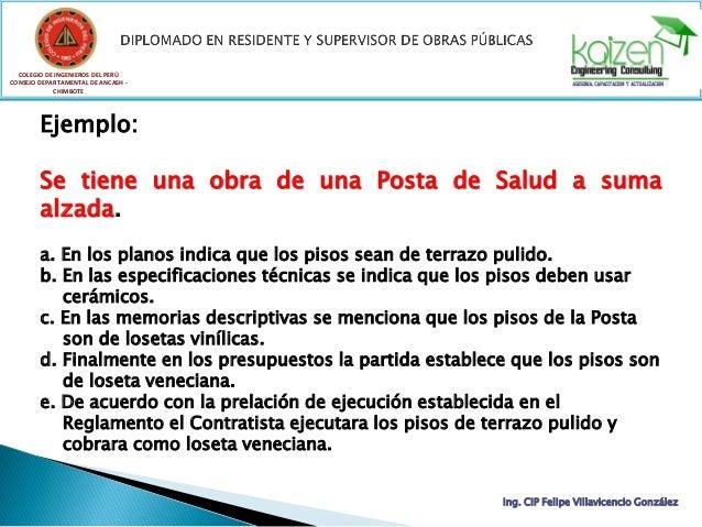 COLEGIO DE INGENIEROS DEL PERÚ CONSEJO DEPARTAMENTAL DE ANCASH - CHIMBOTE Ing. CIP Felipe Villavicencio González Ejemplo: ...