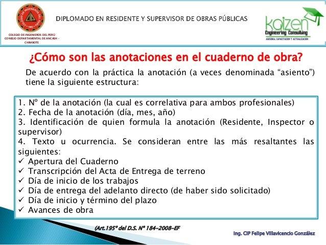 COLEGIO DE INGENIEROS DEL PERÚ CONSEJO DEPARTAMENTAL DE ANCASH - CHIMBOTE Ing. CIP Felipe Villavicencio González  Consult...