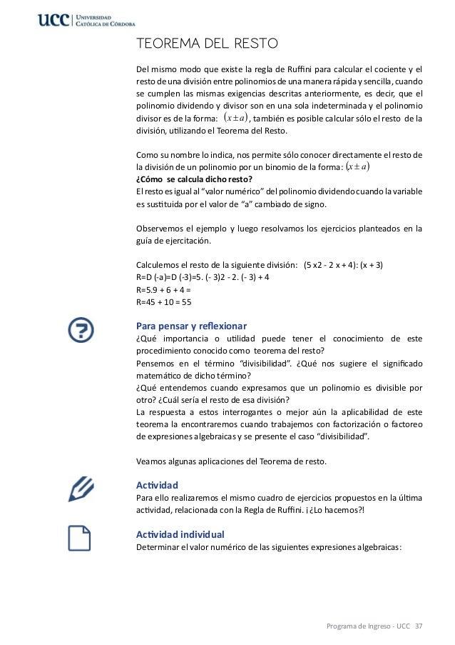 Vistoso Resto Y Del Factor Teorema De Hoja De Cálculo Regalo ...