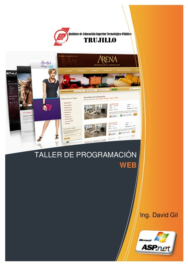 TALLER DE PROGRAMACIÓN                  WEB                         Ing. David Gil