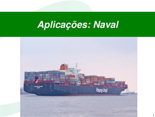1 Aplicações: Naval