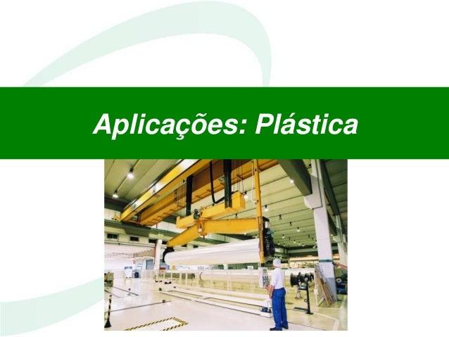 Aplicações: Plástica