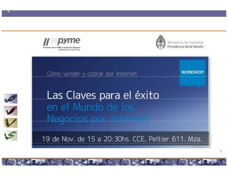 Workshop intensivo Las Claves para el exito en el eCommerce y los Negocios por internet