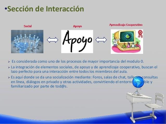  Es considerada como uno de los procesos de mayor importancia del modulo 0.  La integración de elementos sociales, de ap...