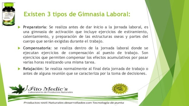 Modulo 1 gimnasia laboral for Gimnasia concepto