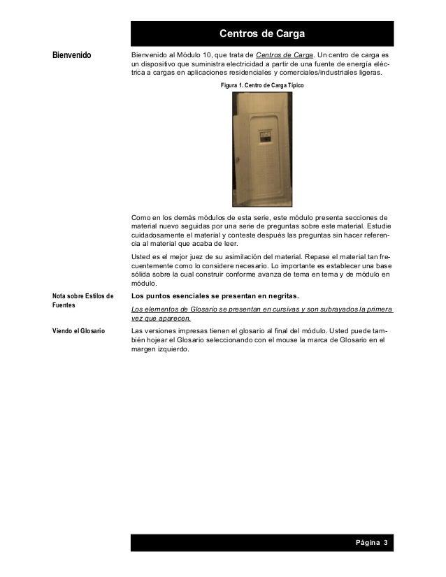 Modulo 10 Centros De Carga