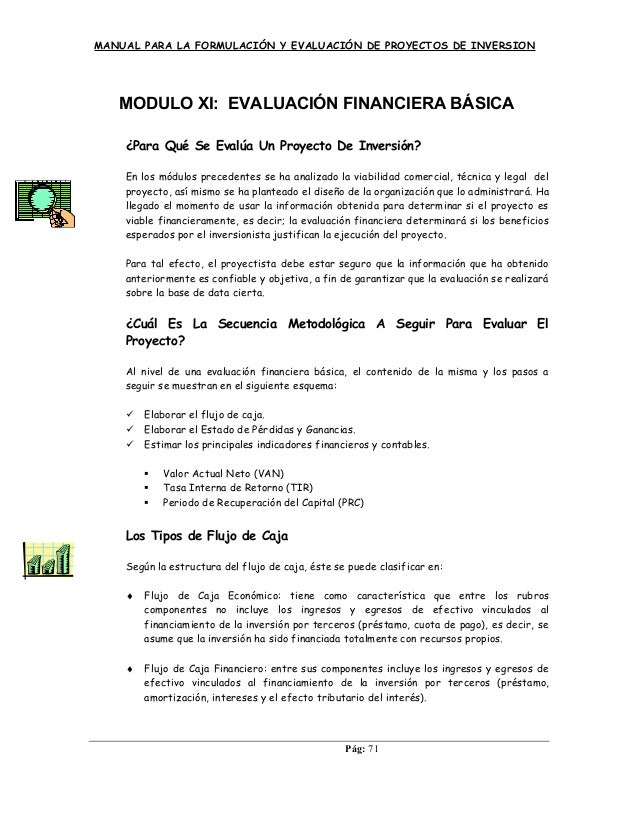Modulo 11 Evaluación Financiera Básica